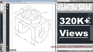 Video How to draw Isometric Drawing in AutoCAD download MP3, 3GP, MP4, WEBM, AVI, FLV Juli 2018