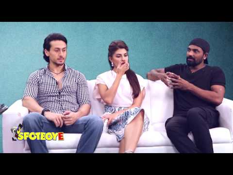 Fun Interview with The Flying Jatt cast Tiger Shroff, Jacqueline Fernandes | SpotboyE