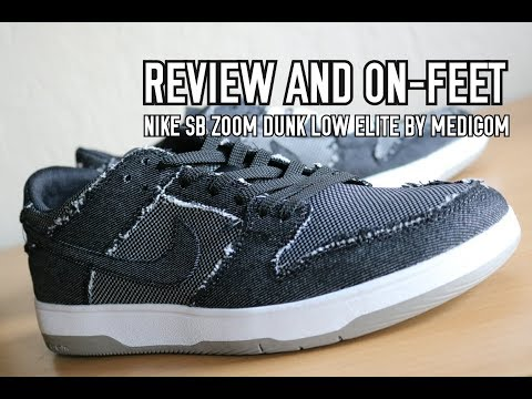 Nike S.B. Zoom Dunk Elite Low By Medicom - Kinetic Collections