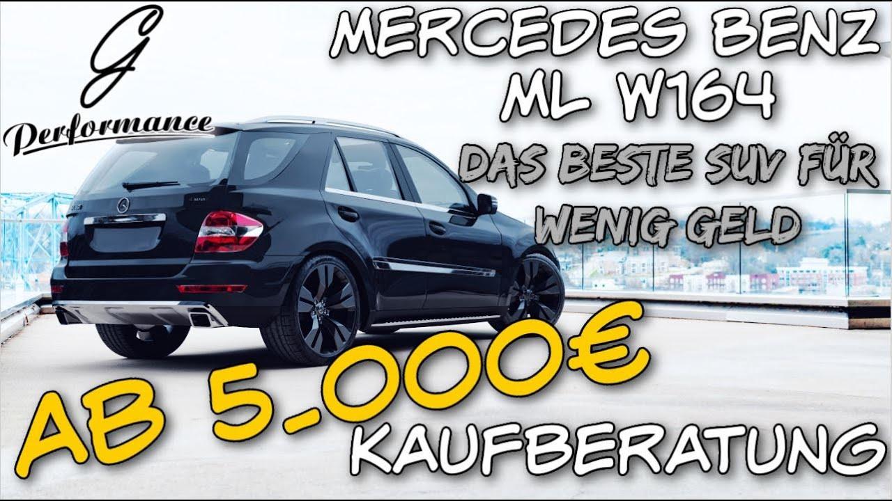 Das BESTE SUV-Auto für wenig Geld | Mercedes Benz ML W164 Kaufberatung | G Performance