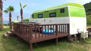 Отдых на острове Чеджу в кемпинг Стар
