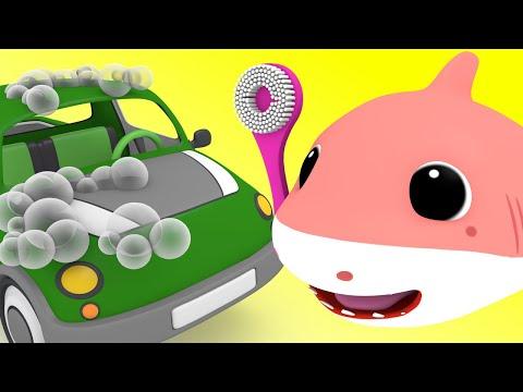 Baby Shark Car Wash Song