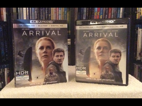 Arrival 4K BLU RAY UNBOXING and