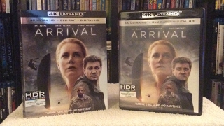 Arrival 4K BLU RAY UNBOXING and Review