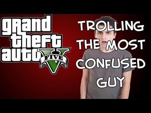 Trolling The Most Confused Guy On GTA Heists