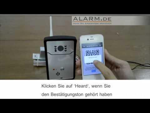 WLAN Türklingel - am Smartphone und Tablet sehen, wer vor der Tür steht, egal wo man ist