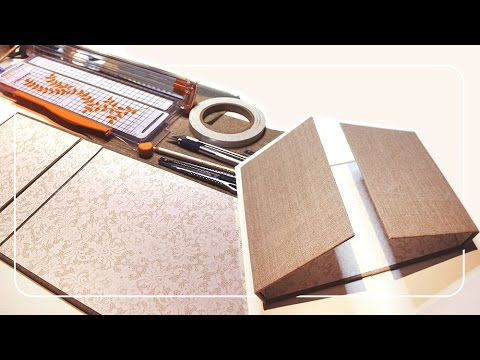 tuto couverture d 39 album de scrapbooking wedding album part1 youtube. Black Bedroom Furniture Sets. Home Design Ideas