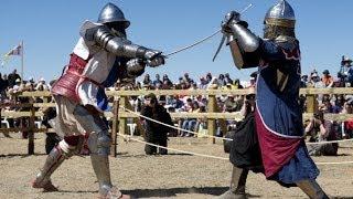 Средневековые рыцари сразились в Испании (новости)