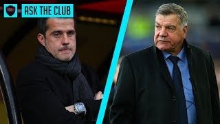 SILVA OR ALLARDYCE: WHO IS BETTER? | ASK THE CLUB