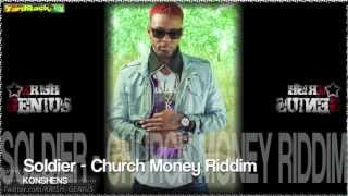 Konshens - Soldier [Church Money Riddim] Nov 2012