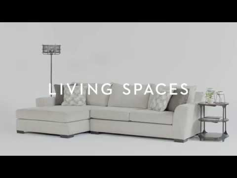 Style Snippet: Delano 2 Piece Sectional With Oversized Chaise | Living  Spaces