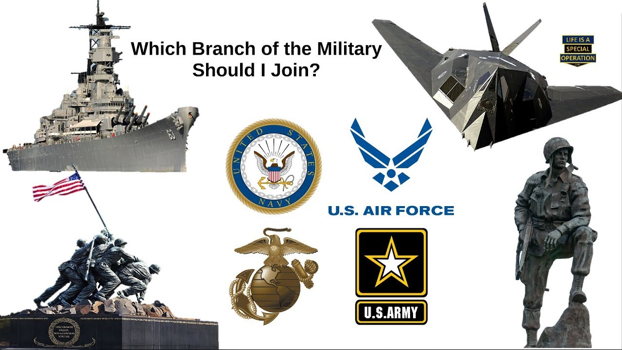 What Is The Best Military Branch >> Which Branch Of The Military Should I Join Army Navy Airforce Marines Coast Guard