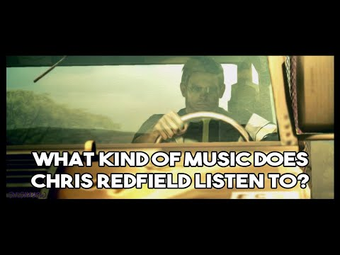 What kind of music does Chris Redfield listen to?