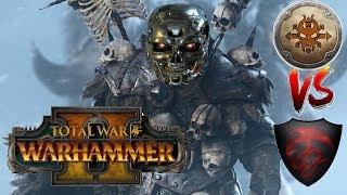 Norsca vs Vampire Counts   WULFRIK THE TERMINATOR - Total War Warhammer 2