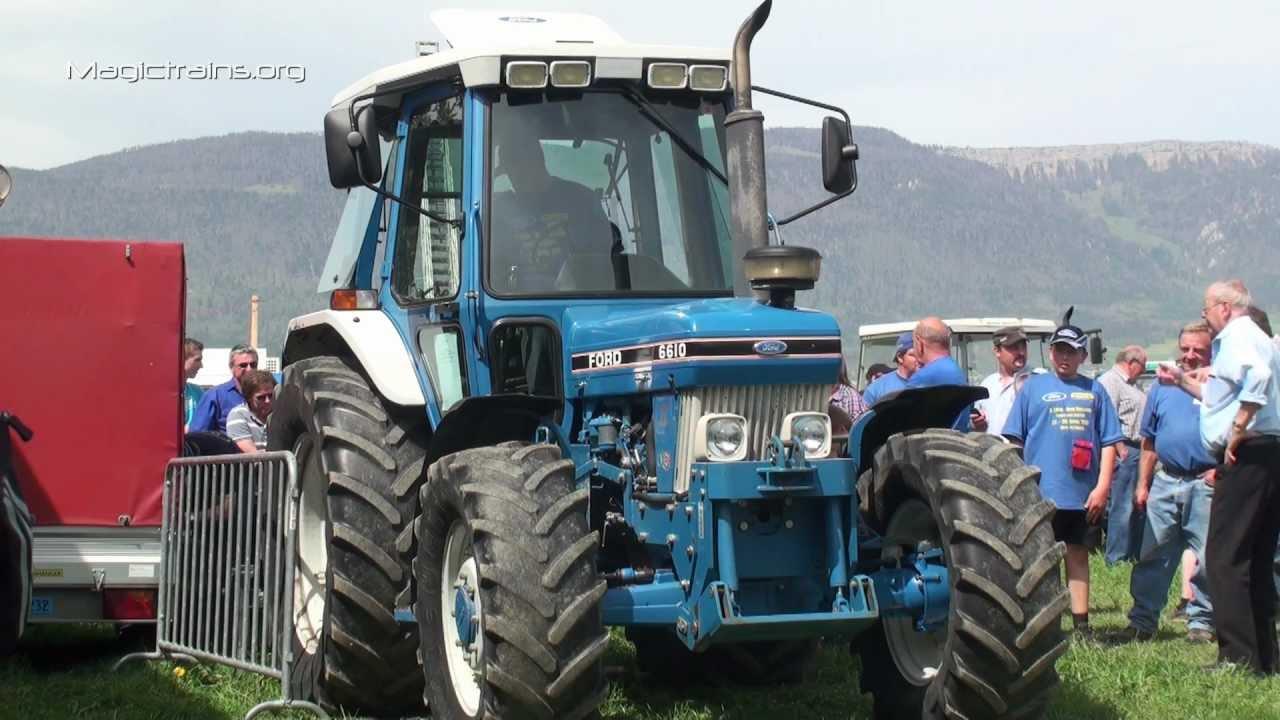 Traktor!! Leistungstest mit Ford 6610 Zapfwellenleistungsprüfstand ...