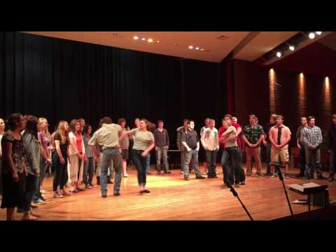 Choteau High School Choir with Swing Dancers
