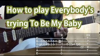 How to play Everybody