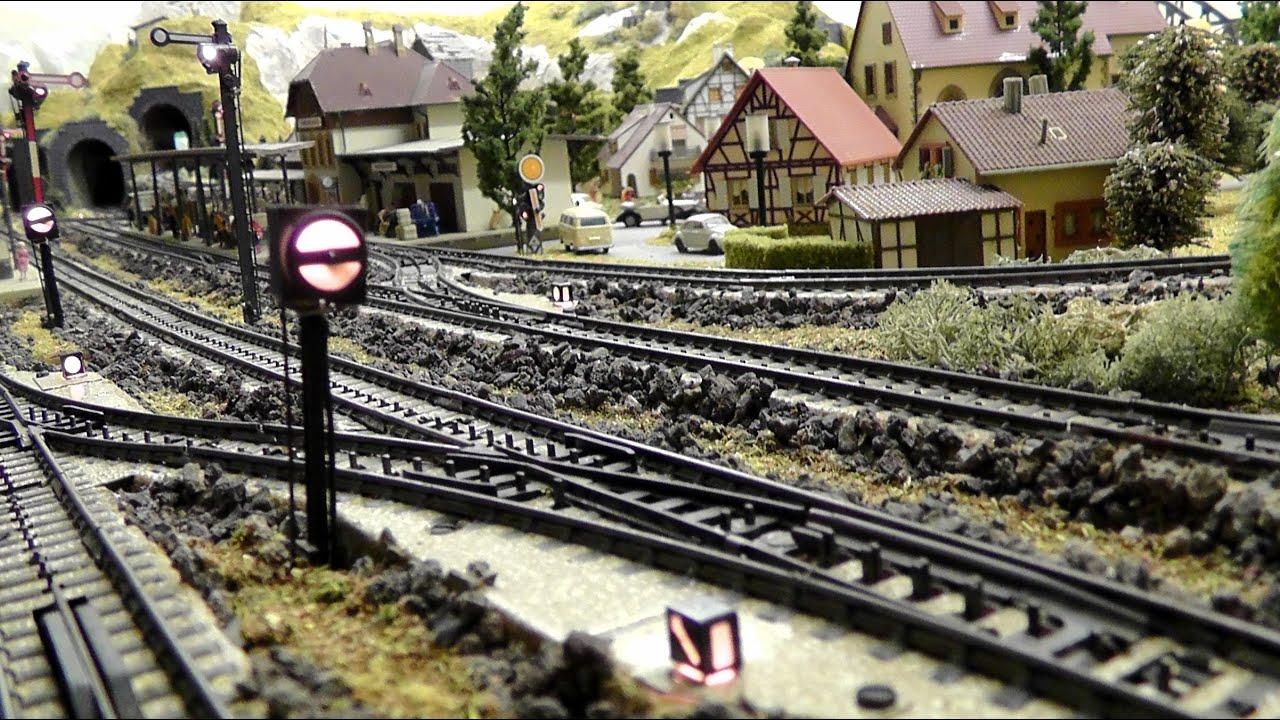 Modellbahn In Spur H0  187 Märklin  Vom Gleisplan