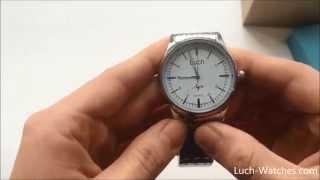 Обзор часов Луч 928477844(Кварцевые часы Луч 928477844 http://luch-watches.com/muzhskie-chasy/99-model-928477844.html., 2014-11-28T14:22:09.000Z)