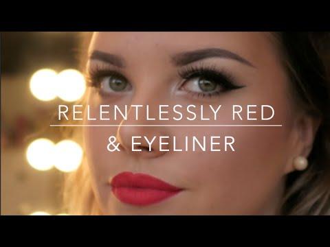 Retro Matte Lipstick (Relentlessly Red)