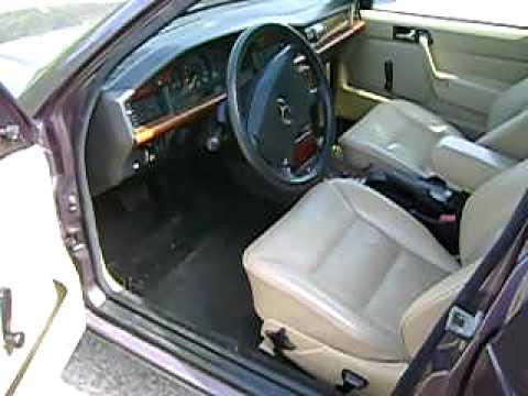 Mercedes 190 Turbo Diesel Interieur Youtube