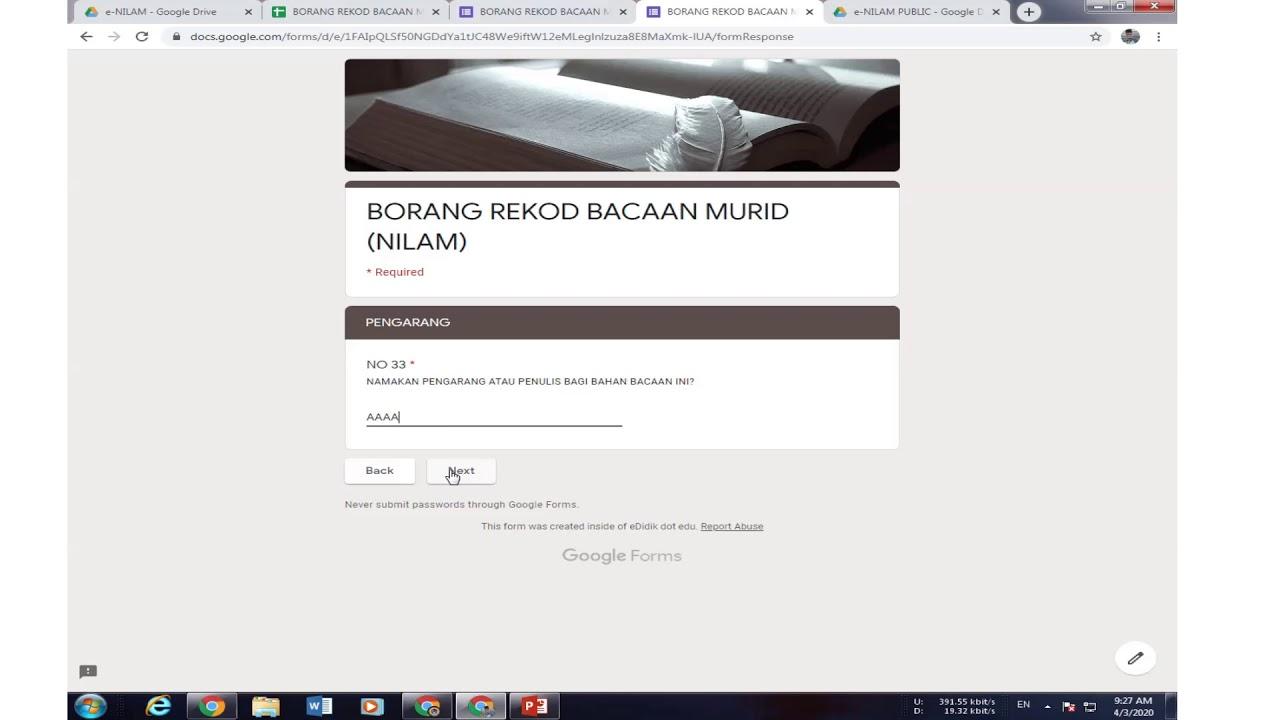 Download STEP e-NILAM  BAHAGIAN 1