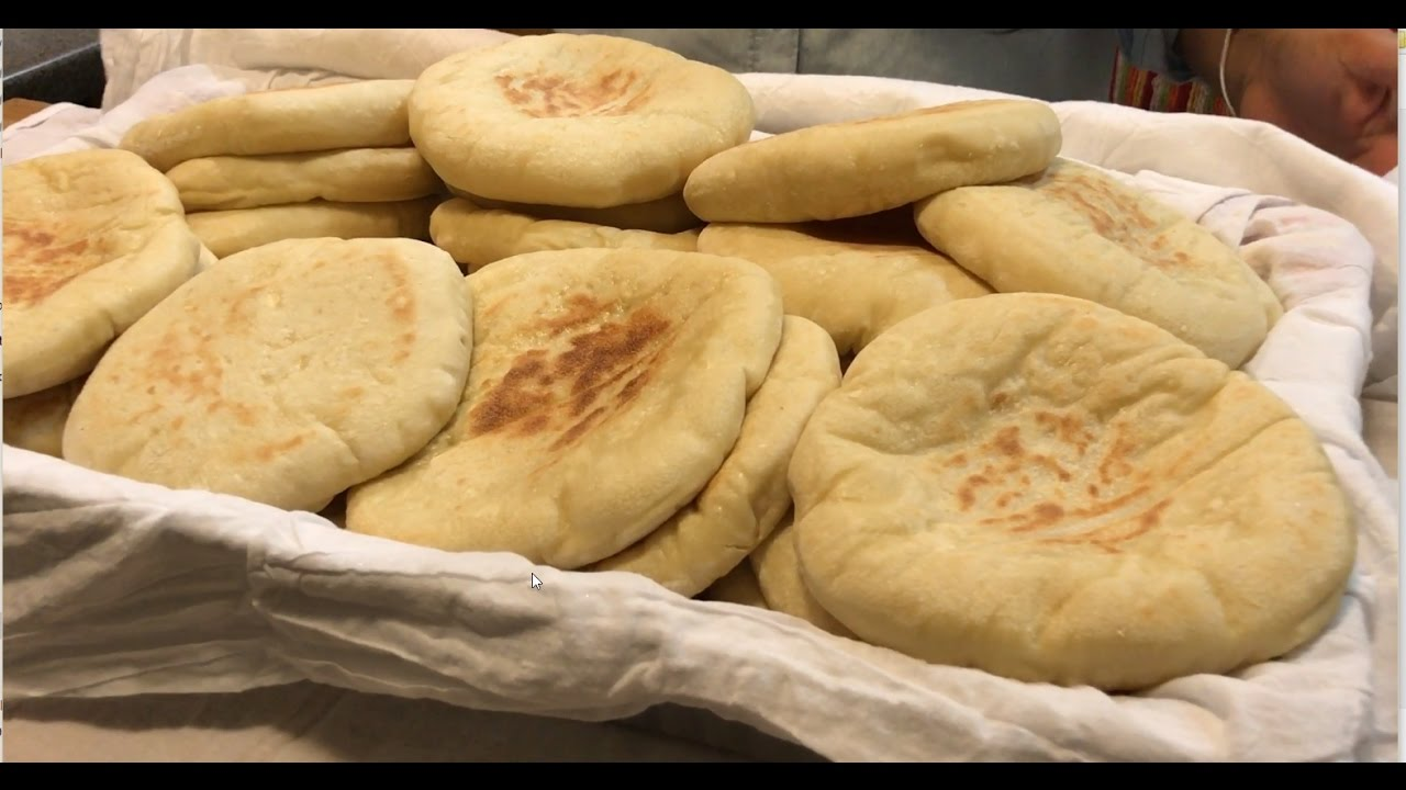 Israeli Pita How To Make Homemade Pita Bread Using A Pan