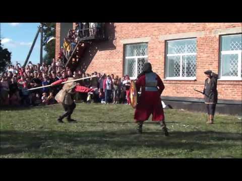 Бой двух воинов аланов
