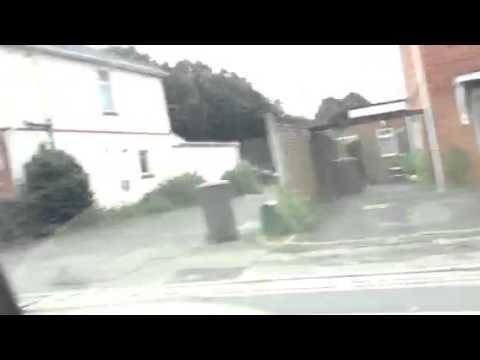 Bournemouth council bus car view