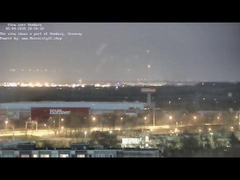 LIVE Webcam / Blick über Hamburg / View over Hamburg, Germany