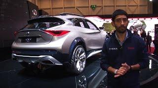 Infiniti QX30 Concept | Salone di Ginevra 2015