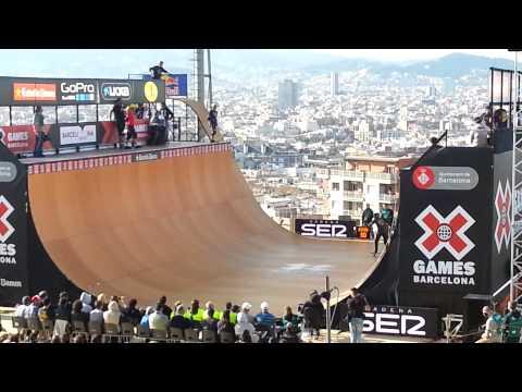 Xgames bcn skateboard vert