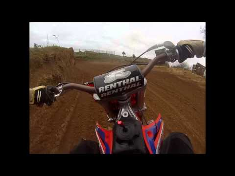 HUGE Motocross Crash K.O BARS SNAP! ORIGINAL FOOTAGE