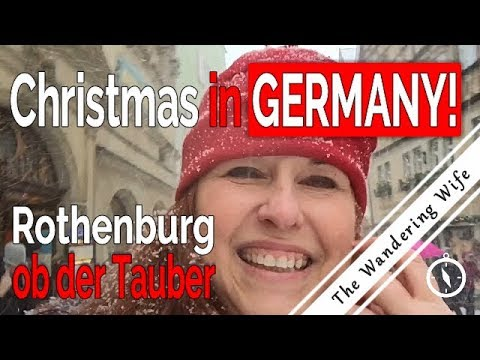 ROTHENBURG, GERMANY - Christmas Snow & Criminal Museum   TRAVEL VLOG #0068