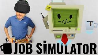 SANAL GERÇEKLİK İŞÇİ OLDUM   Job Simulator