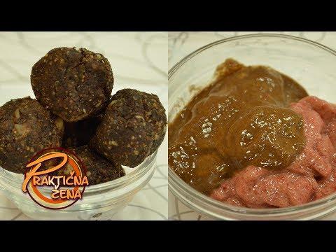 Praktična žena - Zdravi slatkiši od 1. žitarica i 2. voća sa kakaom