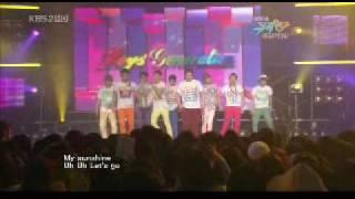090626 Boys' Generation [2PM, 2AM, SHINee & SUJU] - Gee @ Music Bank