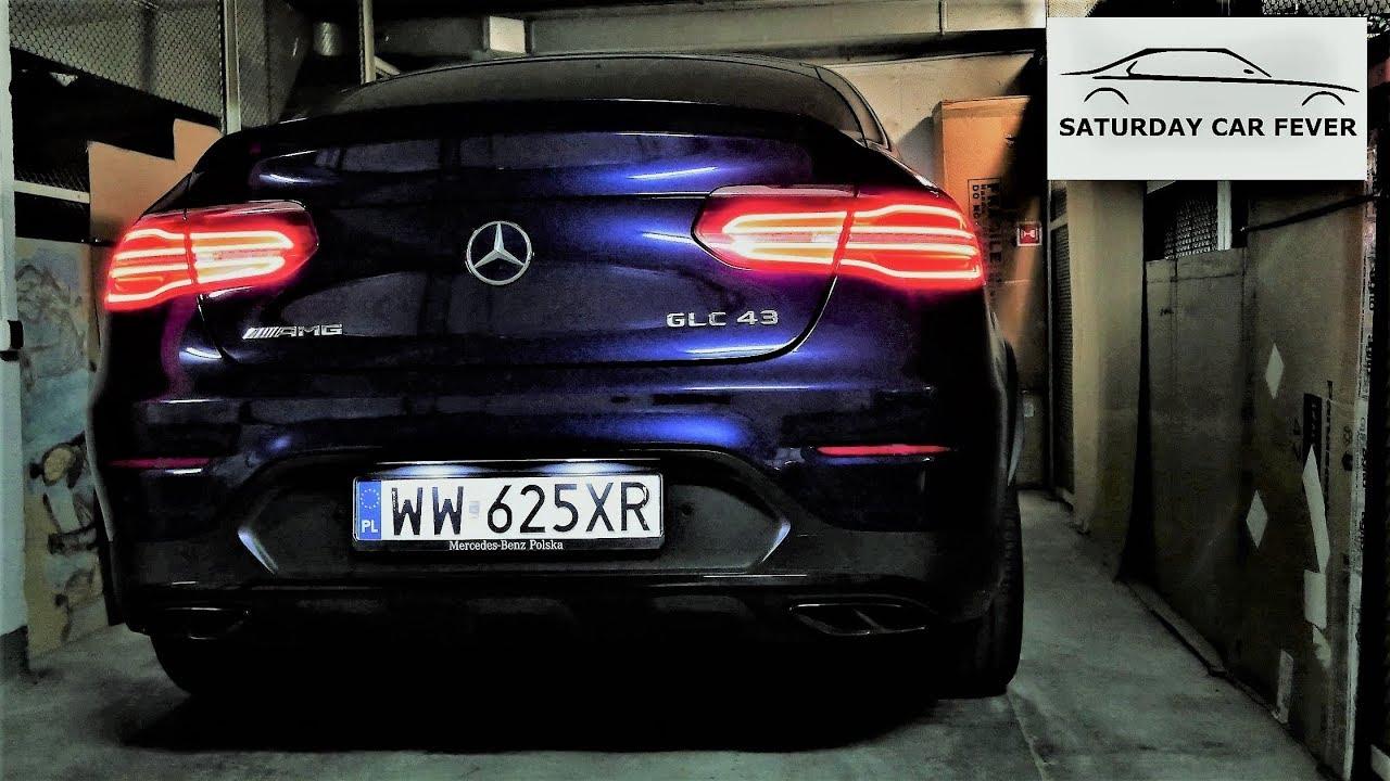 2018 Mercedes-AMG GLC 43 Coupe NOCNY :) TEST PL