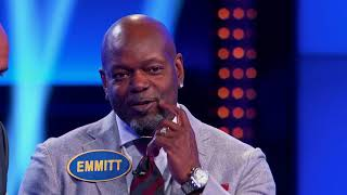 What Rhymes With Bubble? - Celebrity Family Feud