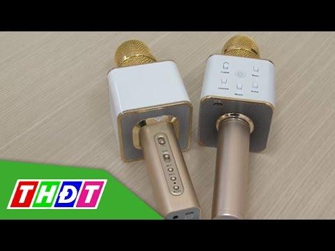 Micro Karaoke Bluetooth - Tiện lợi nhưng cũng cần cẩn trọng | THDT