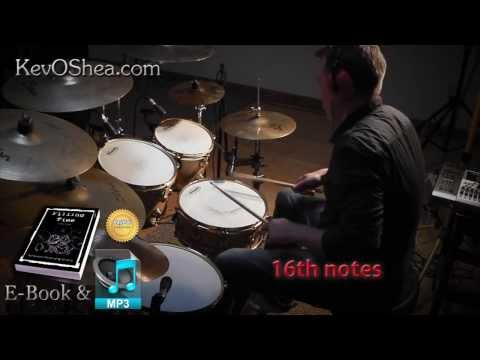 ★ Advanced Drum Lesson ★ Leading Hand Accents | Book Sample