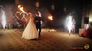 Романтичное шоу на свадьбу  от ФаерШоу