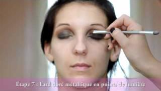 Smoky Eye Ébène, orangé et doré Thumbnail