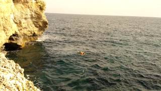 Mallorca cliff jump