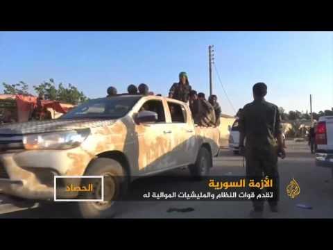 تقدم لقوات النظام السوري والمليشيات الموالية له  - نشر قبل 7 ساعة