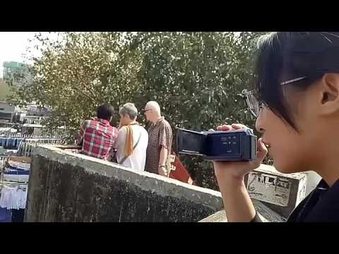 MUMBAI: A Slum Dhoby Ghat Travel with Isabella & Chikita (Marissa Haque Ikang Fawzi)