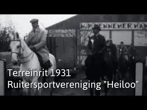 Terreinrit 1931 Ruitersportvereniging