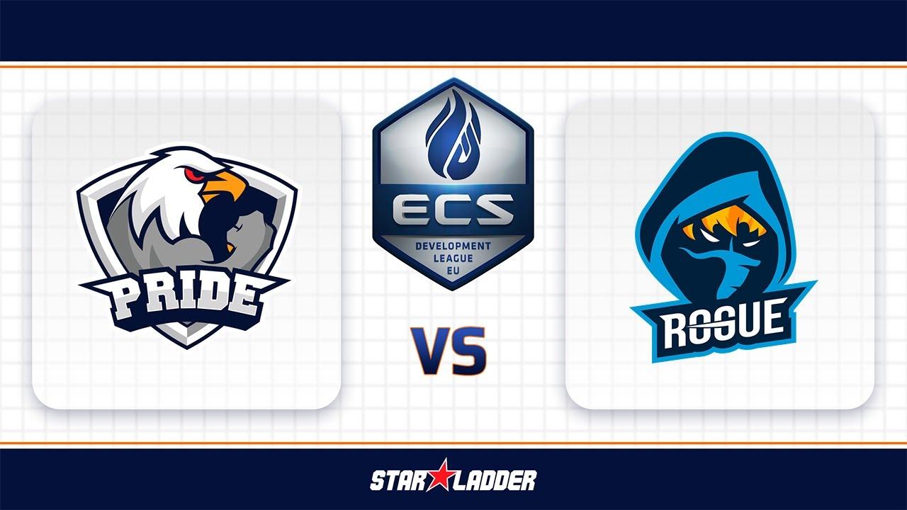 PRIDE vs Rogue, map 2 nuke, ECS Season 3 EU Development League