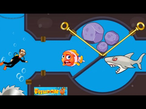 Save The Fish Gameplay Android Game /save The Fish /Fishdom
