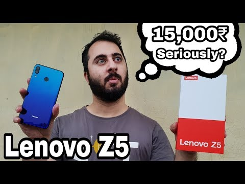 Lenovo Z5 Unboxing & Hands On Review|Camera, Gaming, Price In India|The Most Attractive Smartphone?